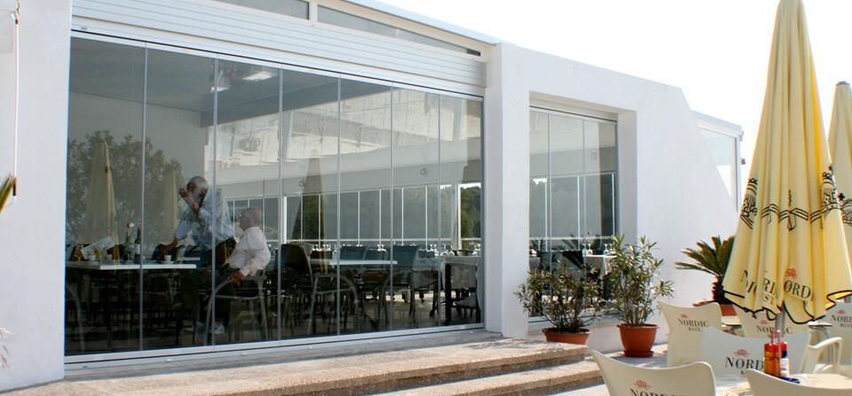 Soluciones de cristal para hostelería