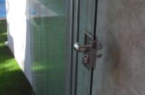 cerradura puerta cristal particular Valladolid